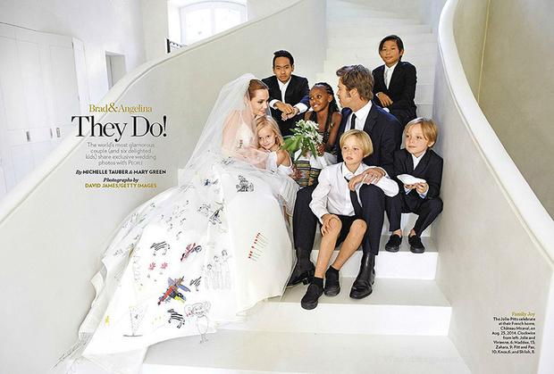 Идеальное семейство Джоли-Питт