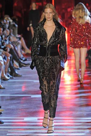 Показ Alexandre Vauthier коллекции сезона Осень-зима 2014-2015 года Haute couture - www.elle.ru - Подиум - фото 585223