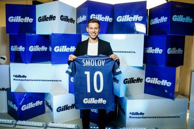 Федор Смолов стал амбассадором Gillette в России (галерея 3, фото 0)