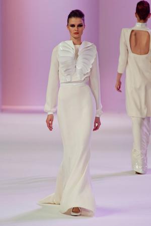 Показ Stephane Rolland коллекции сезона Весна-лето 2014 года Haute couture - www.elle.ru - Подиум - фото 575026