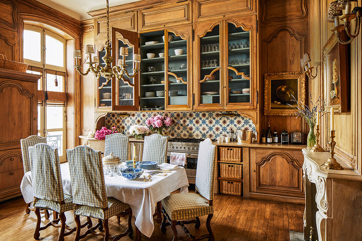 Квартира в парижском особняке XVIII века фото [8]