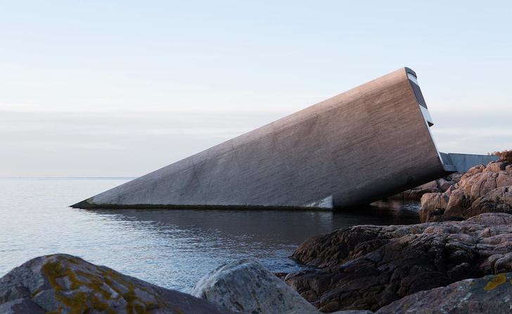 Характер нордический: певыйв Европе подводный ресторан Snøhetta (фото 0)