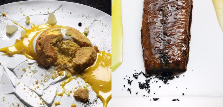 Ресторан Osteria Francescana Michelin еда