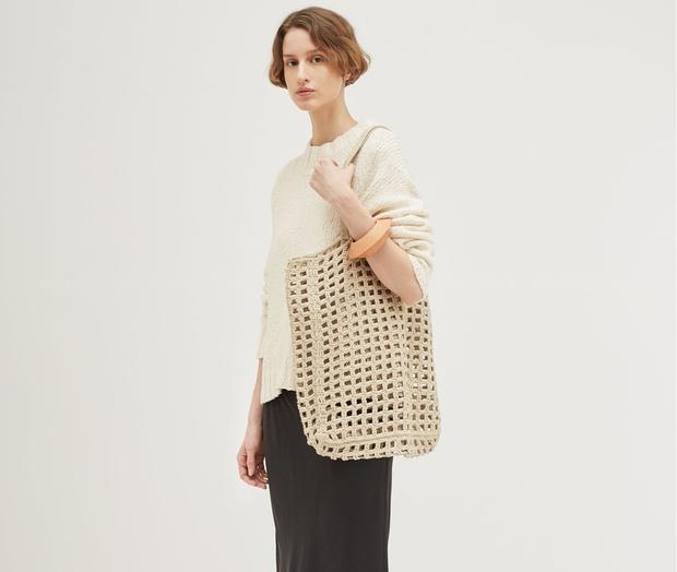 10 красивых тряпичных сумок на весну (фото 23)