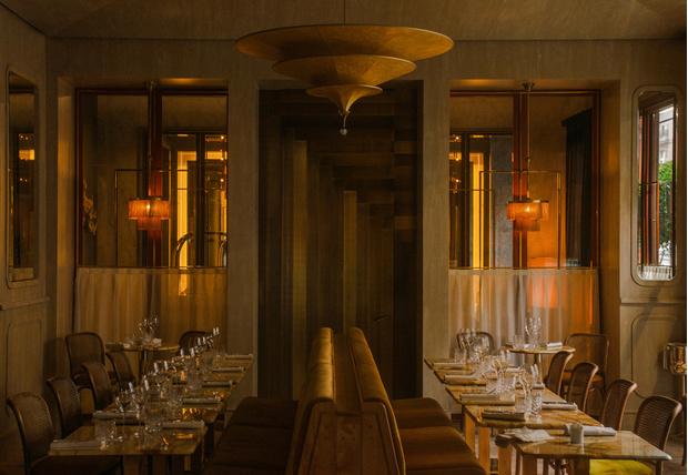 Ресторан Nolinski в стиле ар-деко (фото 0)