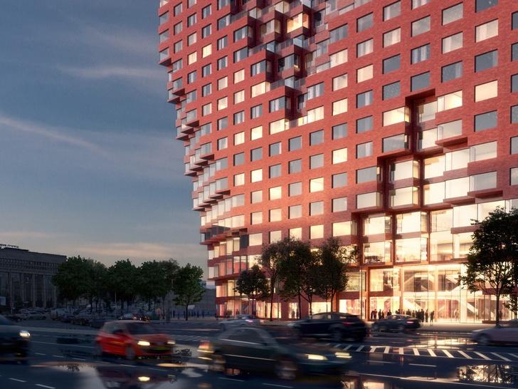 Началось строительство 80-метровой башни RED7 в Москве (фото 9)