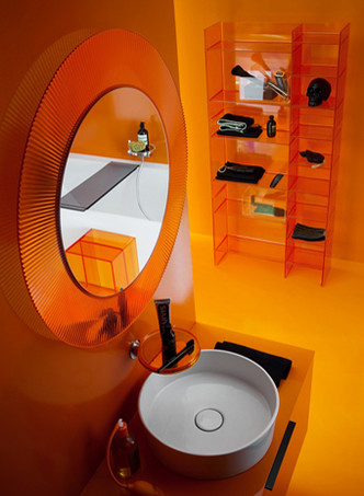 Kartell, Laufen, мебель для ванной, сантехника ванная комната, дизайн
