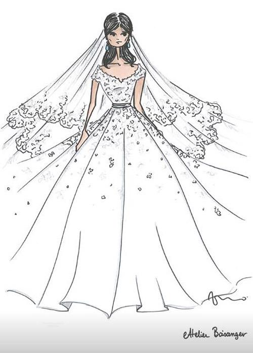 Второе свадебное платье новой принцессы Монако (фото 4)