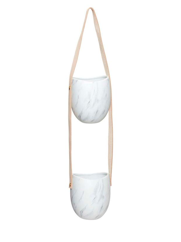 Цветы на балконе: дизайнерские подвесные кашпо (фото 7)