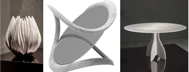 Объекты из мрамора от знаменитых архитекторов (фото 0)