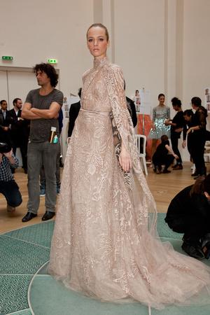 Показ Elie Saab коллекции сезона Весна-лето 2012 года haute couture - www.elle.ru - Подиум - фото 332925