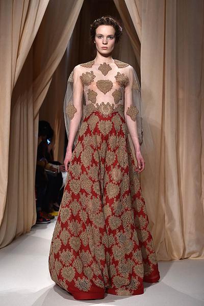 Показ Valentino Haute Couture   галерея [1] фото [10]