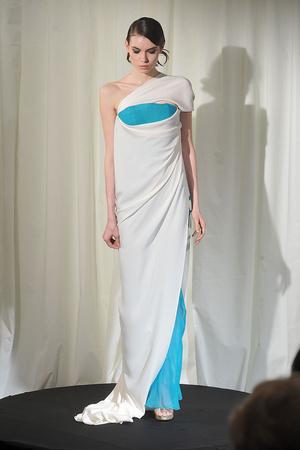 Показ Dominique Sirop коллекции сезона Весна-лето 2009 года Haute couture - www.elle.ru - Подиум - фото 86506