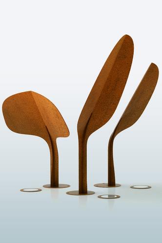 Светящиеся скульптуры Ginko, дизайн Марко Чито, De Castelli, www.decastelli.it