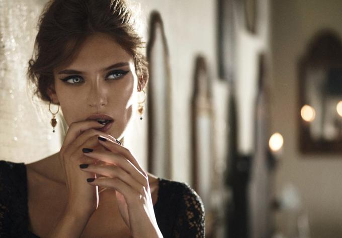 Бьянка Балти в рекламной кампании Dolce&Gabbana