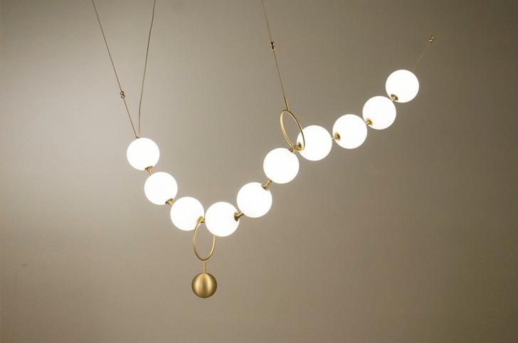 Жемчужная нить: коллекция светильников (фото 0)