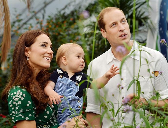 Принц Джордж, сын Кейт Миддлтон и принца Уильяма