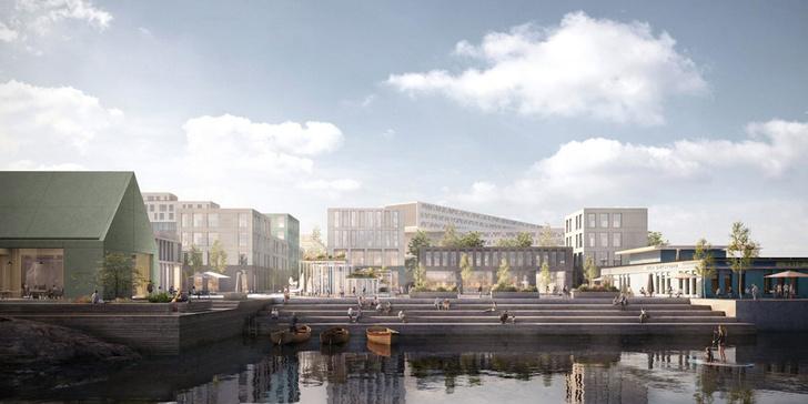 На месте бывшего аэропорта В Осло появится новый городской Аквариум фото [4]