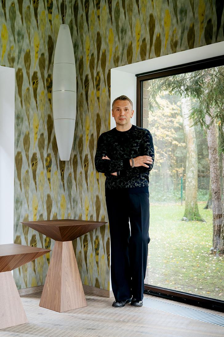 Дом, вдохновленный русским лесом