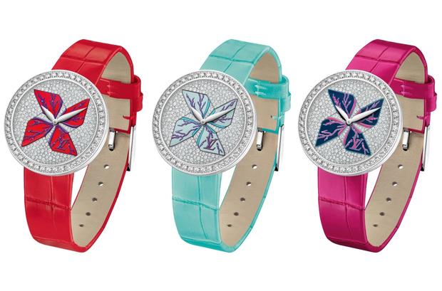 Коллекция ювелирных часов Louis Vuitton CRUISE 2015