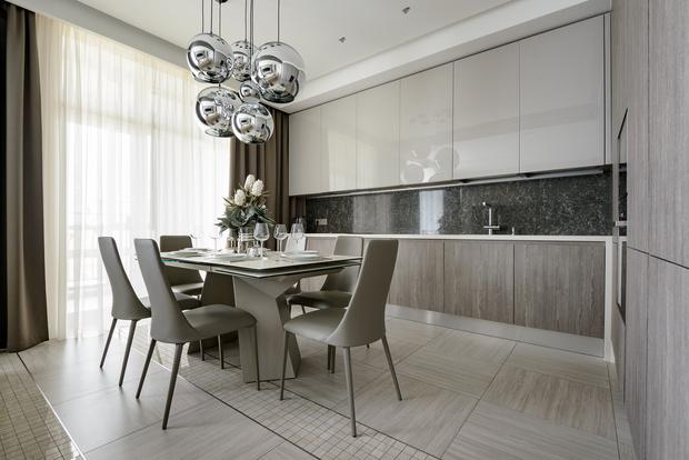 Современная квартира 176 м² в Новосибирске (фото 12)