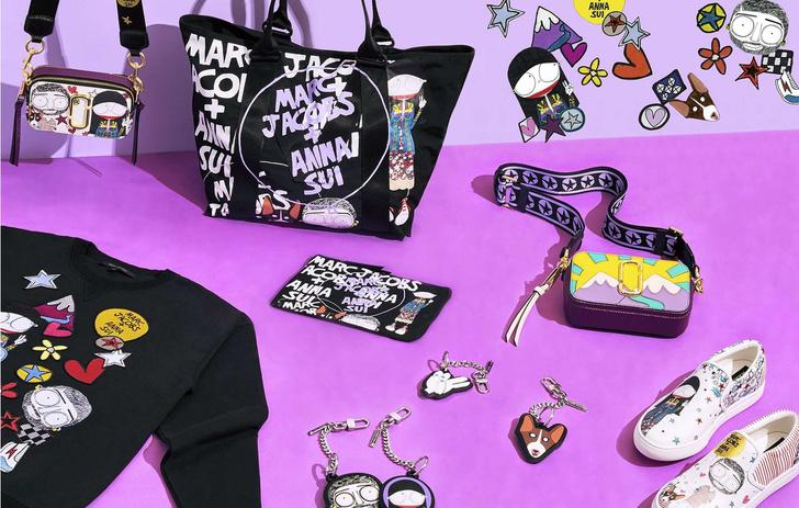 Чувство юмора: коллаборация Marc Jacobs x Anna Sui (фото 3)