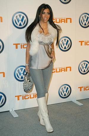 Ким Кардашьян, 2002 год