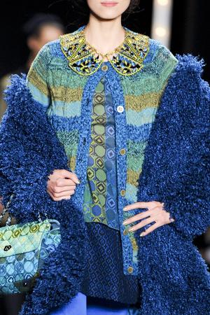 Показ Anna Sui коллекции сезона Осень-зима 2013-2014 года prêt-à-porter - www.elle.ru - Подиум - фото 500822