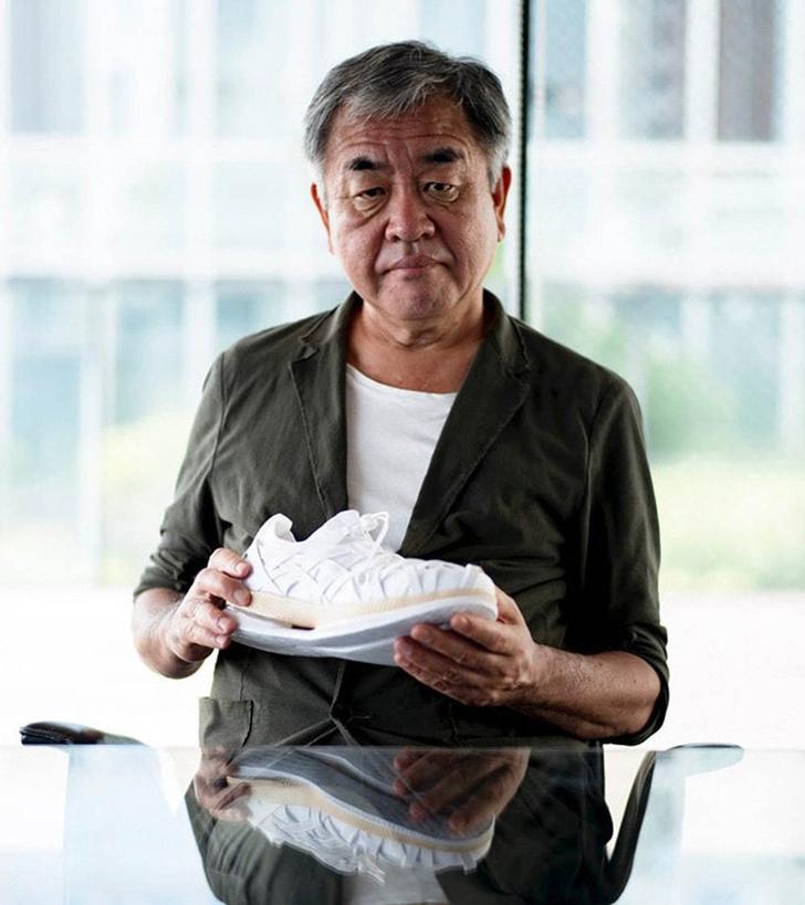 Кенго Кума создал кроссовки для Asics (фото 2)