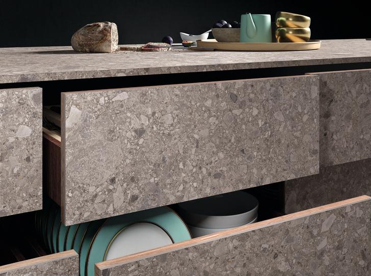 Керамическая плитка на кухне. Модные решения (фото 8)
