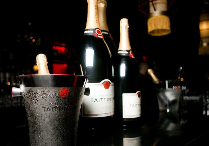 Вечеринка Taittinger