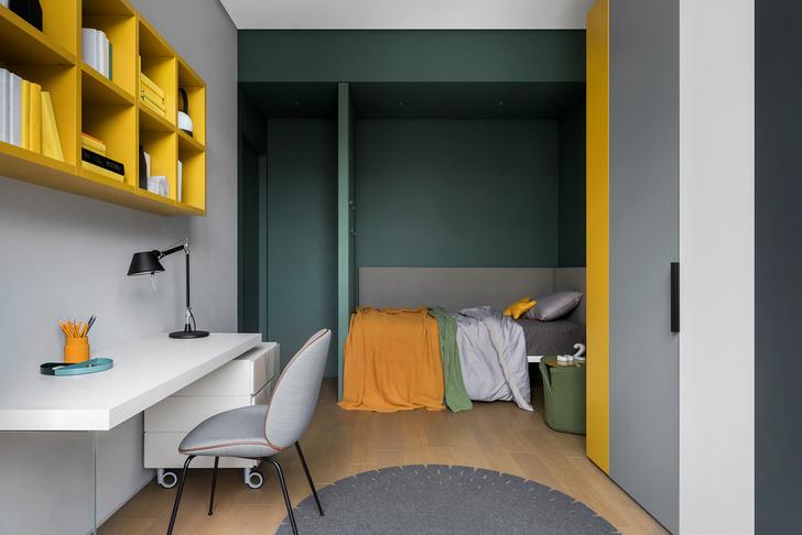 Двухэтажный лофт на Пресне для семьи с двумя детьми (фото 26)