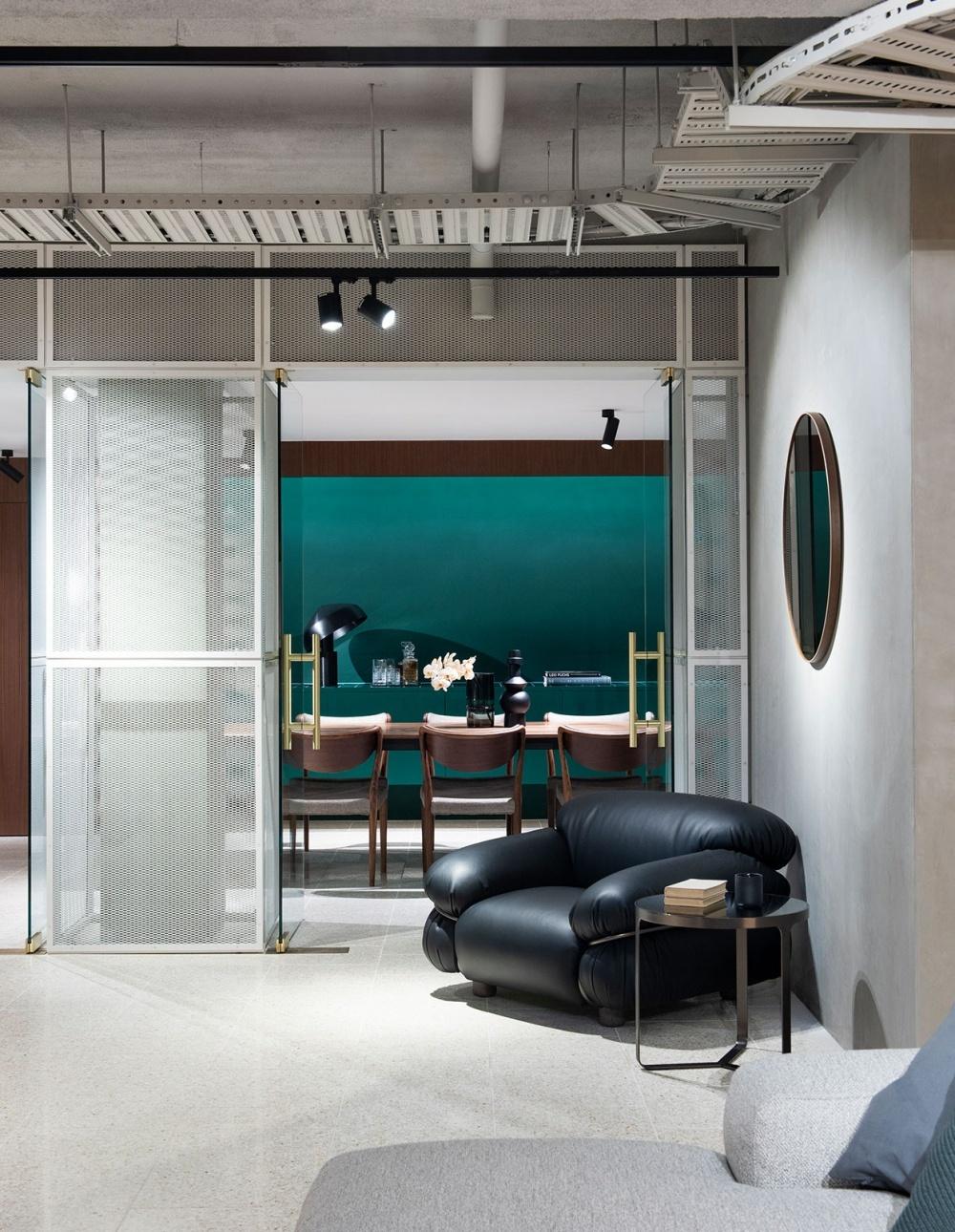 Индустриальный шик: мебельный бутик в Мельбурне (галерея 3, фото 1)