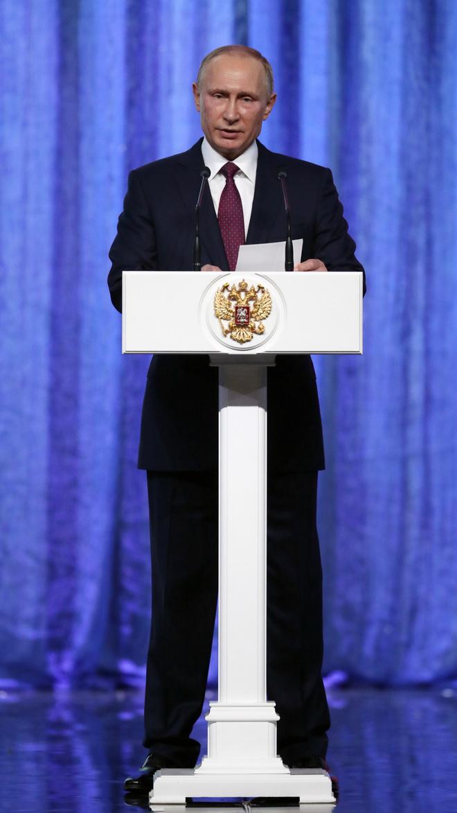 Владимиру Путину - 66 лет: стиль президента в лучших фотографиях (фото 13)
