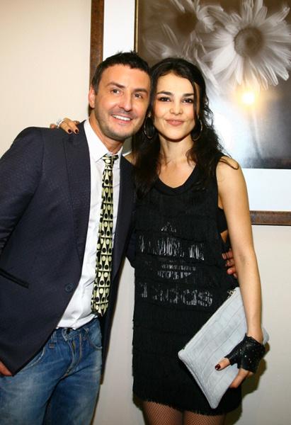 Сати Казанова с фотографом