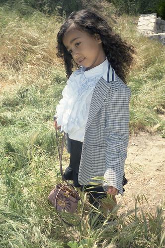 5-летняя дочь Ким Кардашьян дебютировала в качестве модели (фото 4.1)