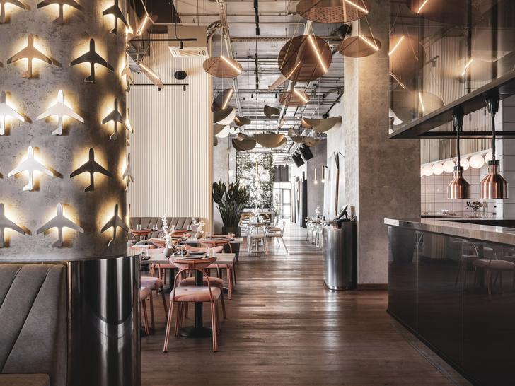 Ресторан «Полет» на Ходынском бульваре (фото 14)