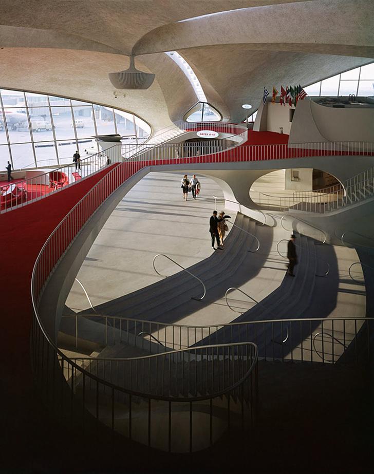 Отель в стиле 1960-х откроется в бывшем терминале TWA в Нью-Йорке фото [16]