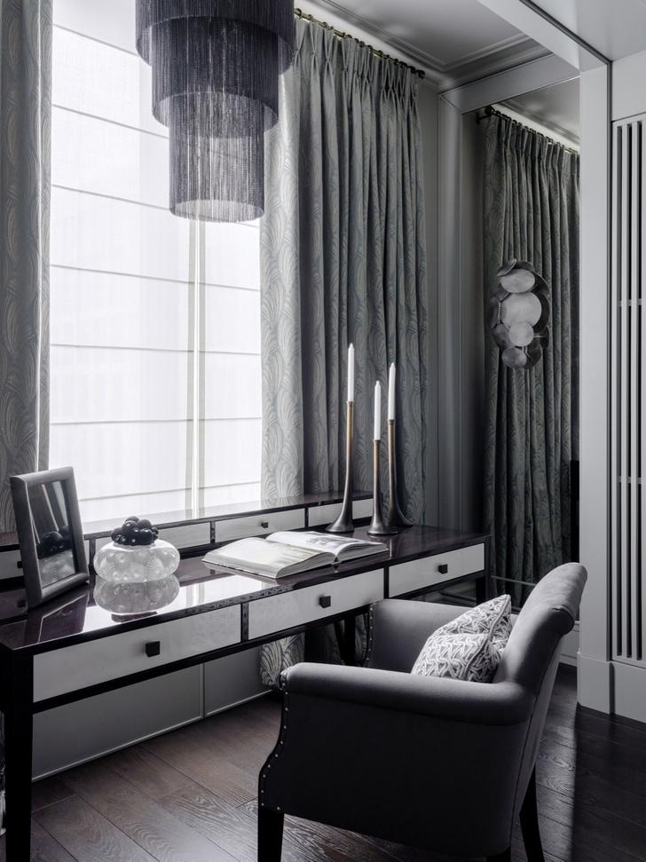 Благородная седина: квартира 130 м² в Москве (фото 10)