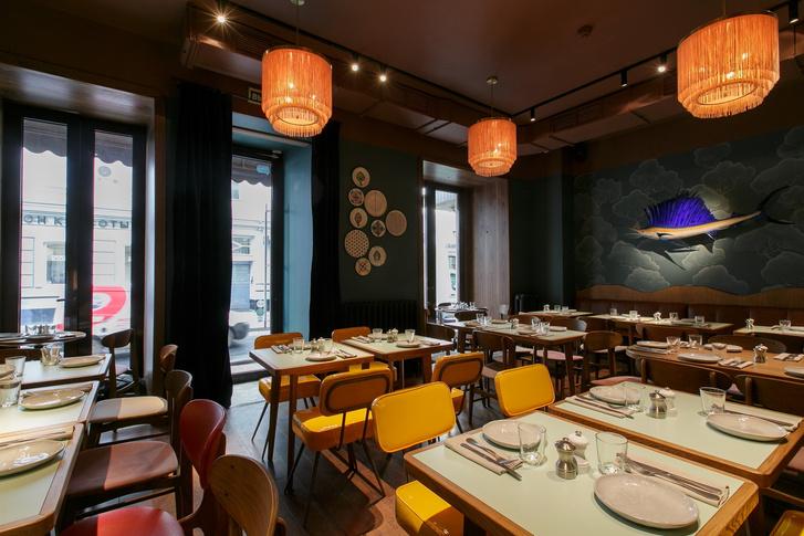 Топ 3: дизайнерские рестораны Уильяма Ламберти в Москве (фото 25)