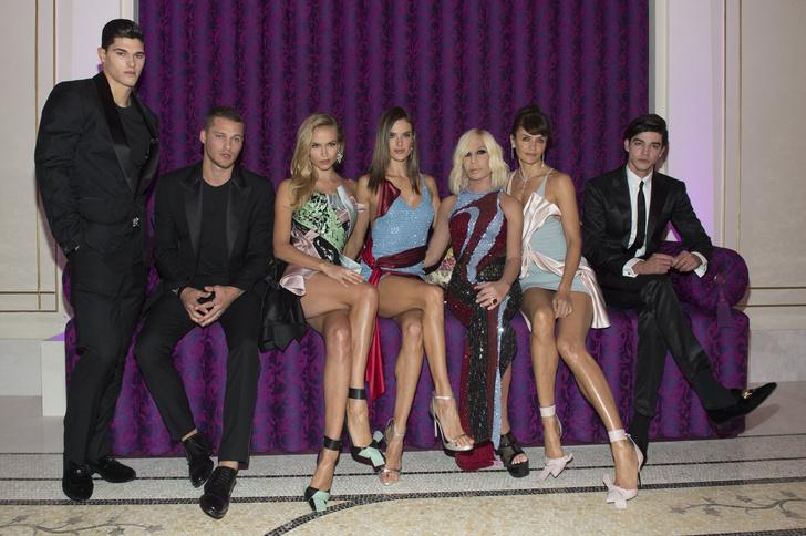Торжественное открытие отеля Palazzo Versace Dubai
