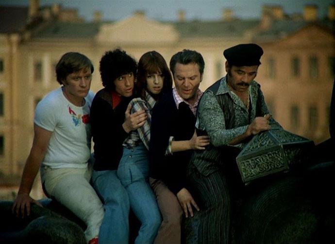 «Невероятные приключения итальянцев в России» (1973)