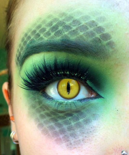 20 идей макияжа на Хэллоуин (фото 36)