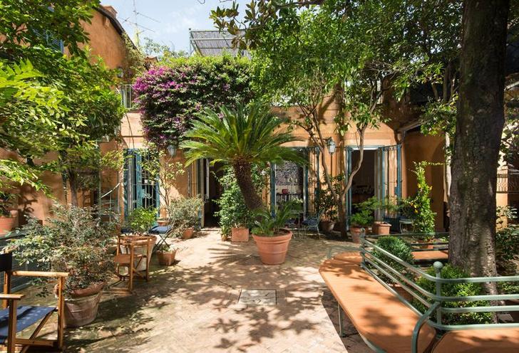 Арт-резиденция с живописным садом в Риме (фото 1)