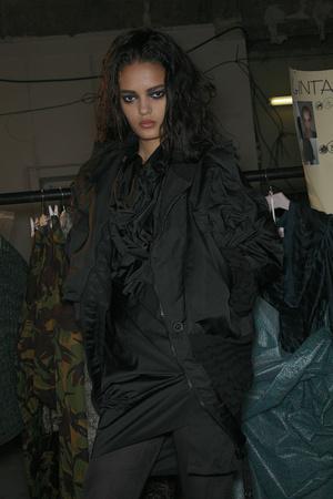Показ Vivienne Westwood коллекции сезона Осень-зима 2009-2010 года Prêt-à-porter - www.elle.ru - Подиум - фото 100087