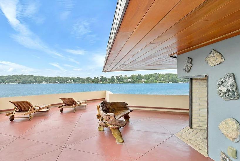 Под Нью-Йорком продается частный остров с домами Фрэнка Ллойда Райта (галерея 7, фото 2)