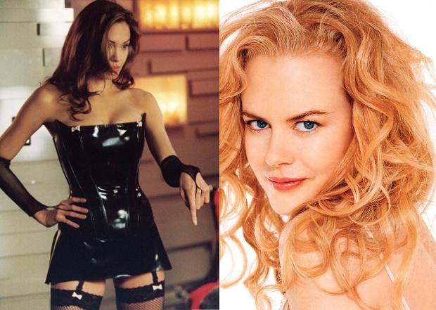 Анджелина Джоли — Николь Кидман («Мистер и миссис Смит»)