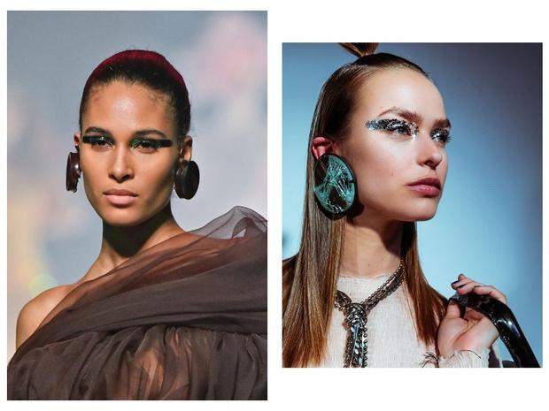 Никакого «нюда»: макияж с последнего показа Jean-Paul Gaultier (фото 10)