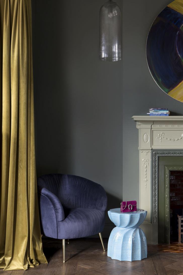 Color-blocking: интерьер дома в Дублине (фото 9)