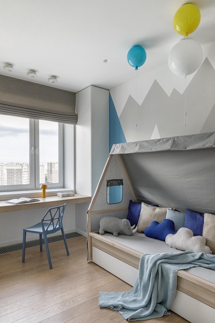 Солнечное настроение: квартира 120 м² в Москве (фото 15)